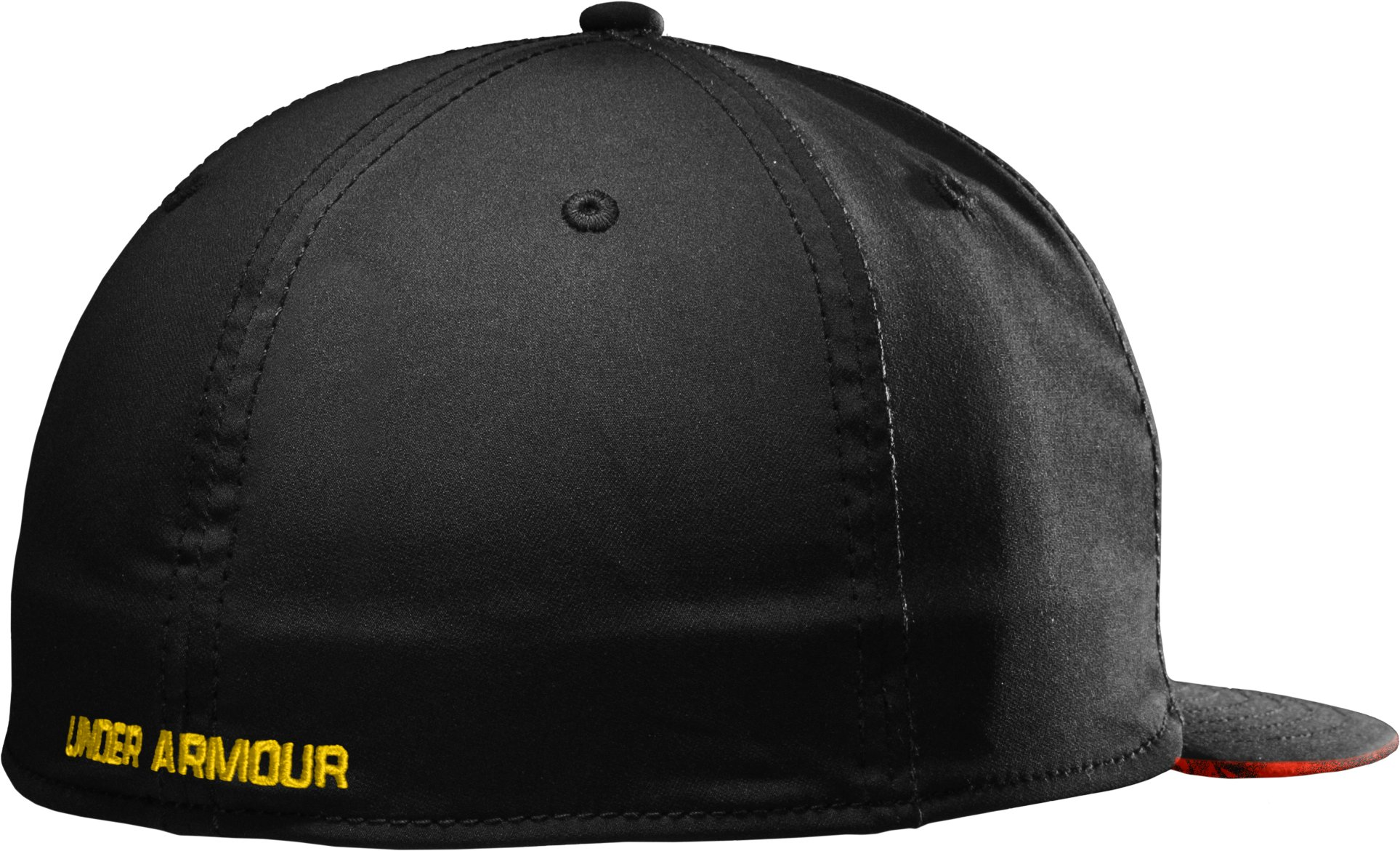 Men's NFL Combine Authentic Flat Brim Cap, Black
