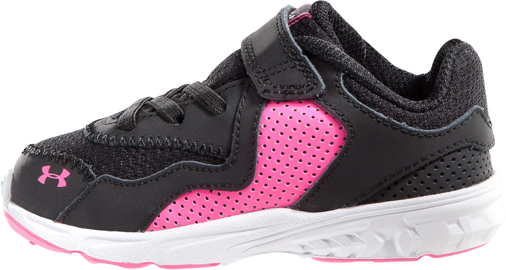 Girls' Infant UA Assert III Shoe, Black ,