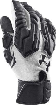 Merveilleux Menu0027s UA Combat III Football Gloves, Black