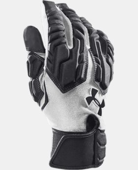 Men's UA Combat III Football Gloves LIMITED TIME: FREE U.S. SHIPPING 1 Color $24.74