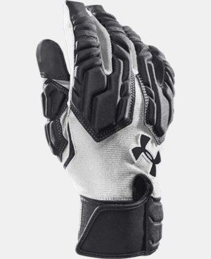 Men's UA Combat III Football Gloves  1 Color $24.74