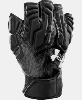 Men's UA Combat III Half-Finger Football Gloves