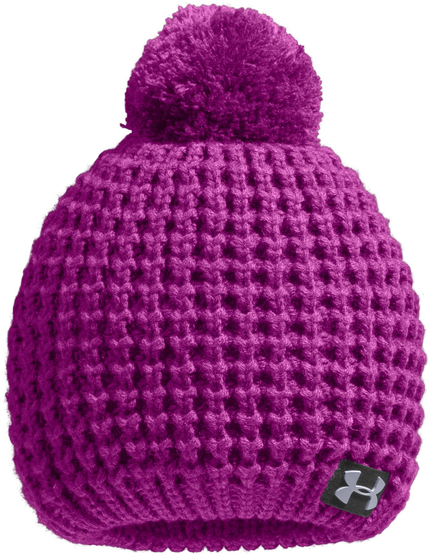 Girls' ColdGear® Infrared Alpine Beanie, STROBE, zoomed image