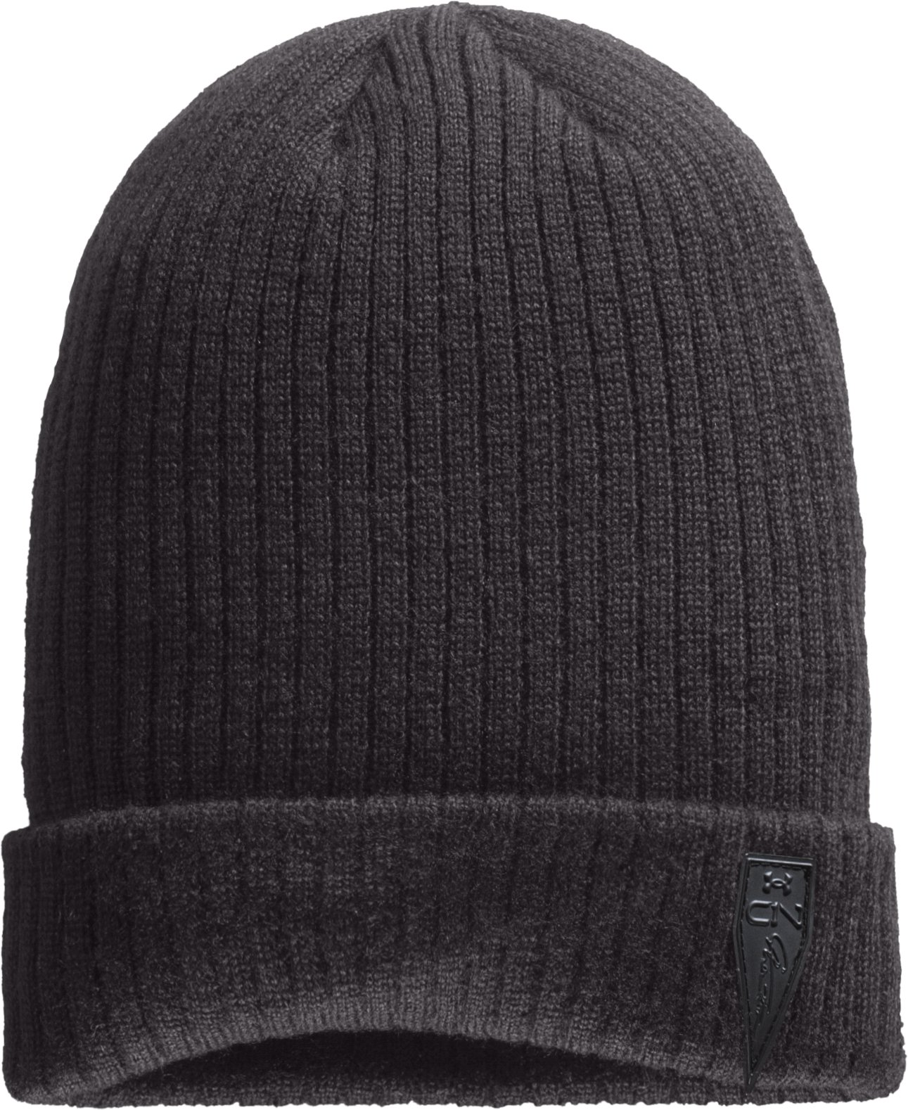 Men's C1N Signature Beanie, Charcoal, zoomed image