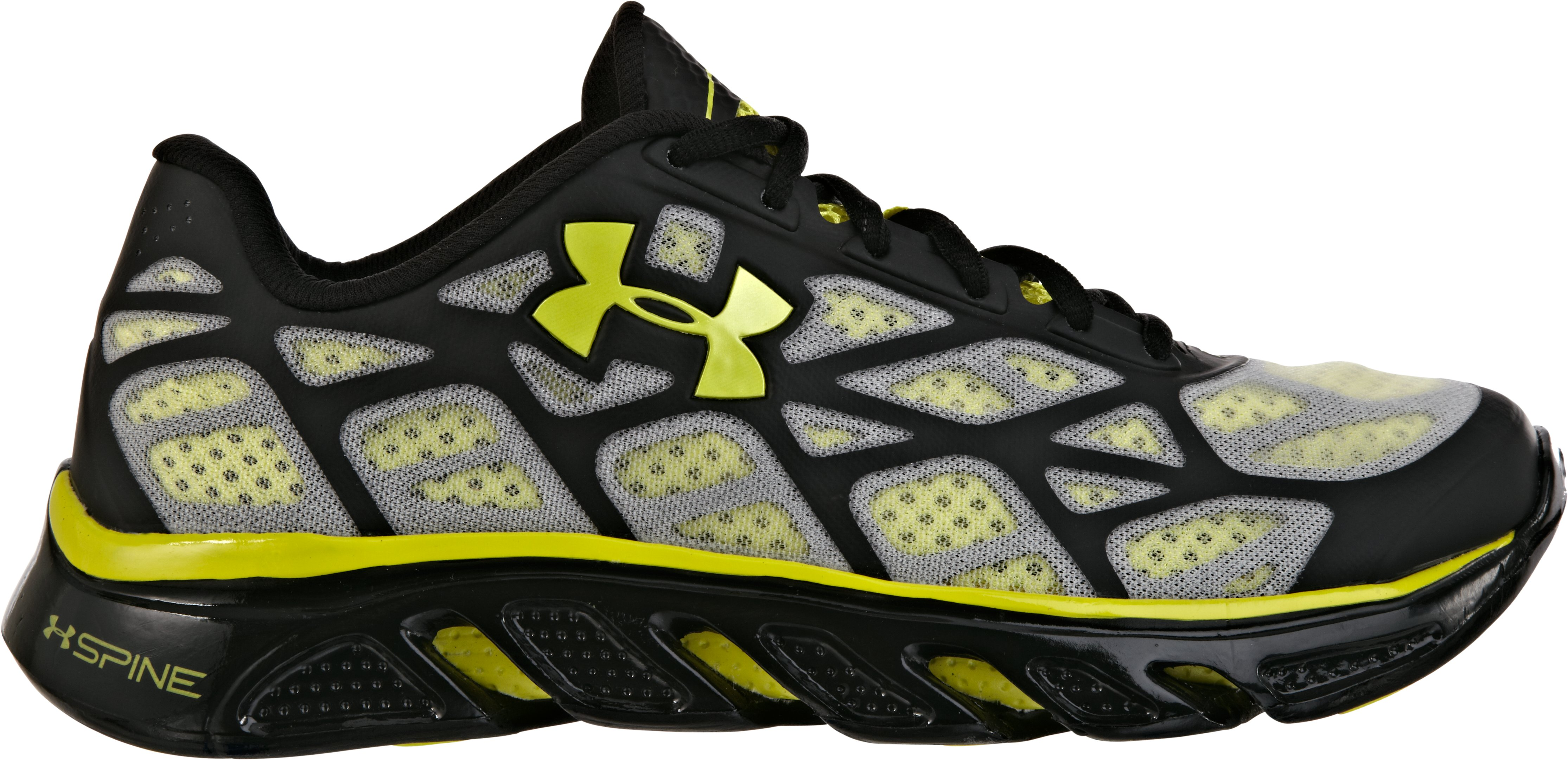 Men's UA Spine™ Vice Running Shoes, Black , zoomed image