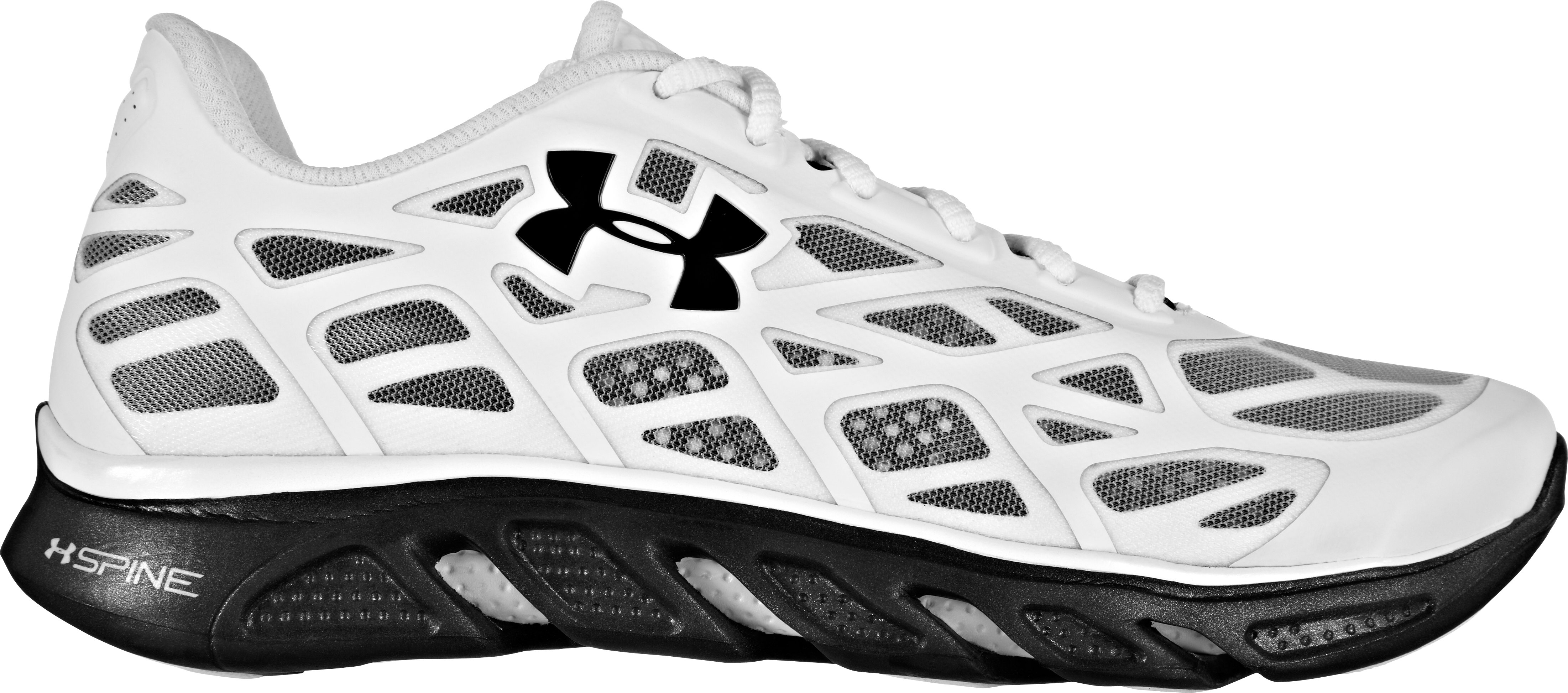 Men's UA Spine™ Vice Running Shoes, White, zoomed image