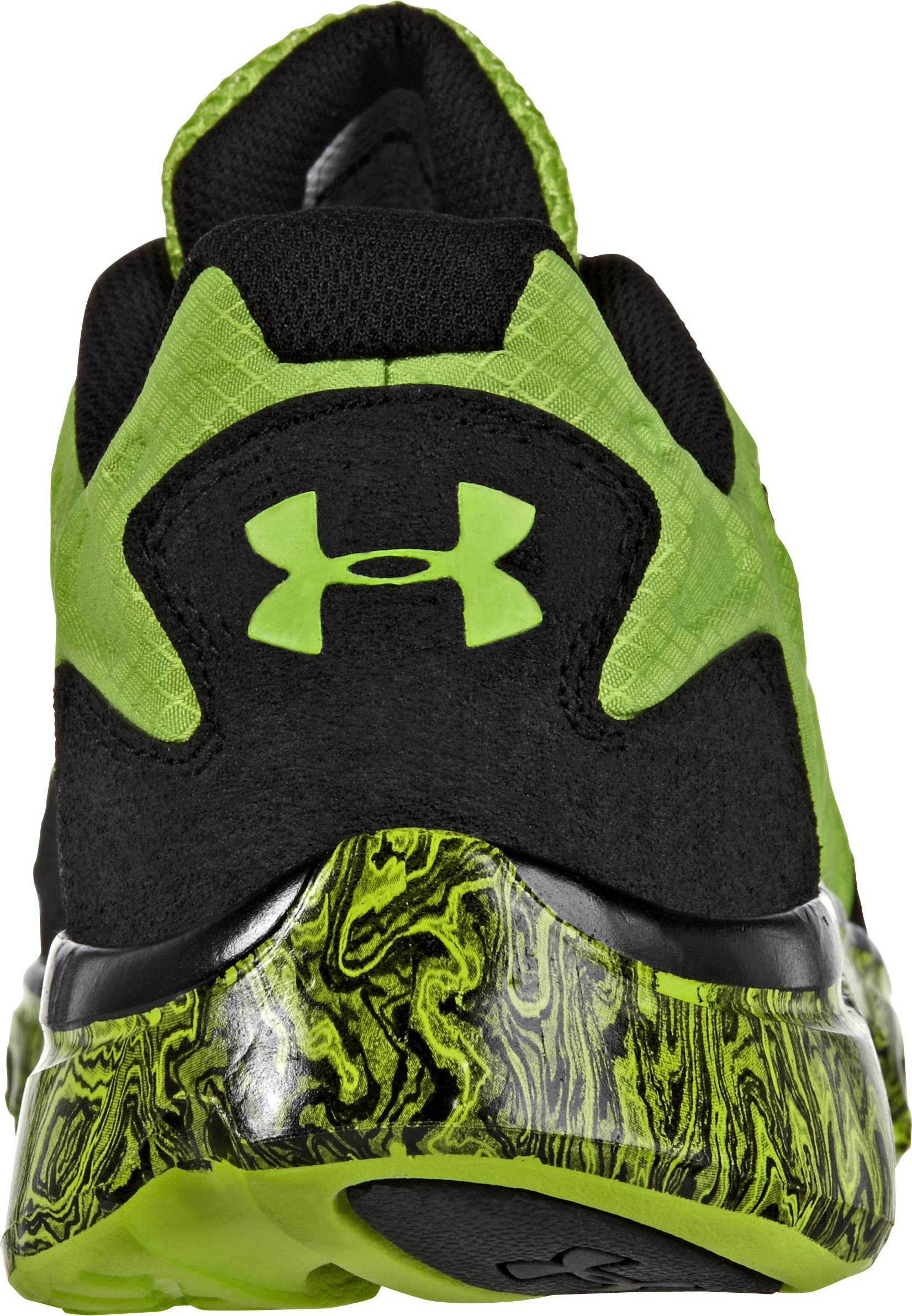 Men's UA Spine™ Rebel Storm Running Shoes, HYPER GREEN