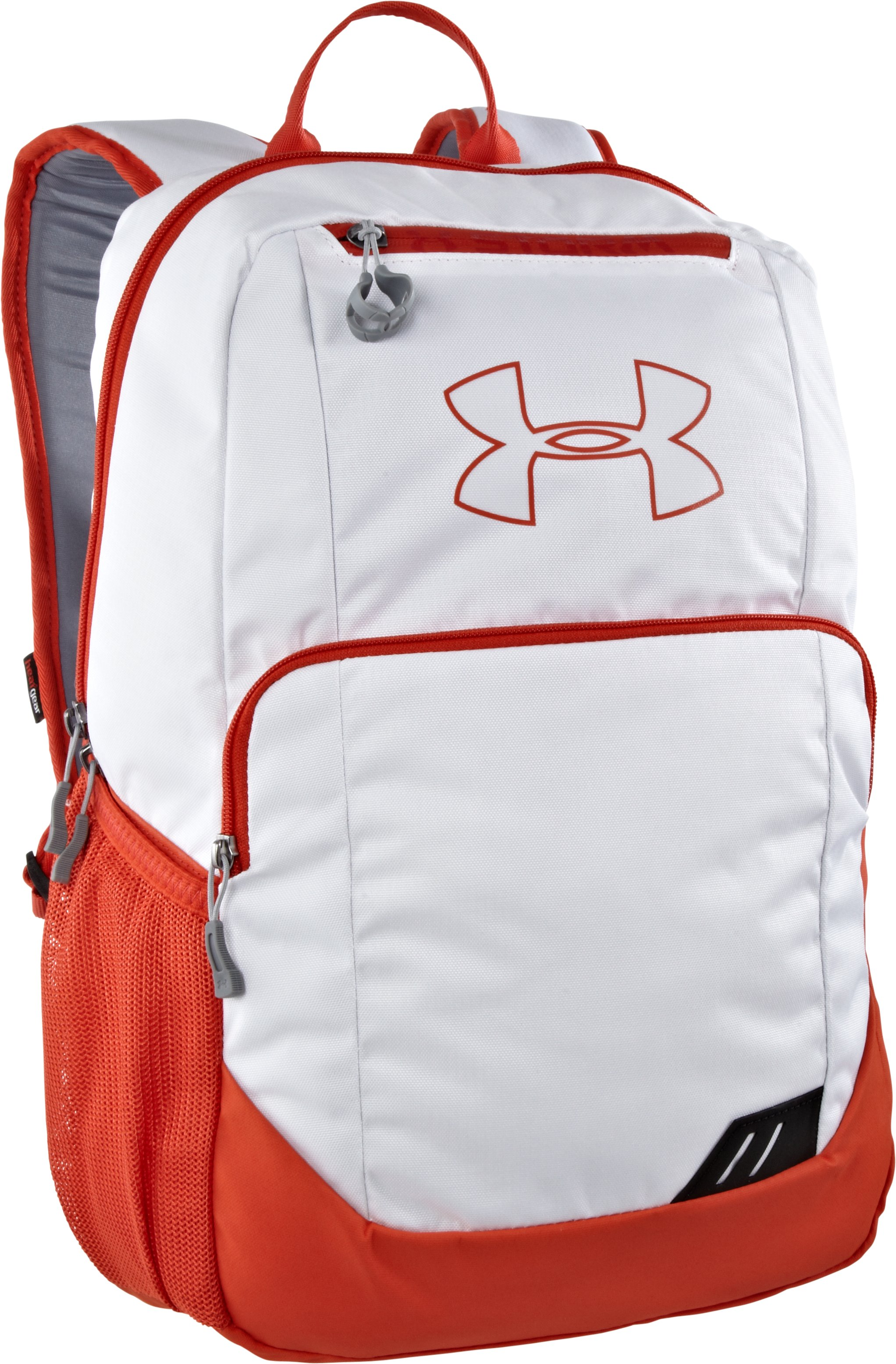 UA Ozsee Storm Backpack, White, zoomed image