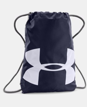 UA Ozsee Sackpack  4  Colors Available $17.99