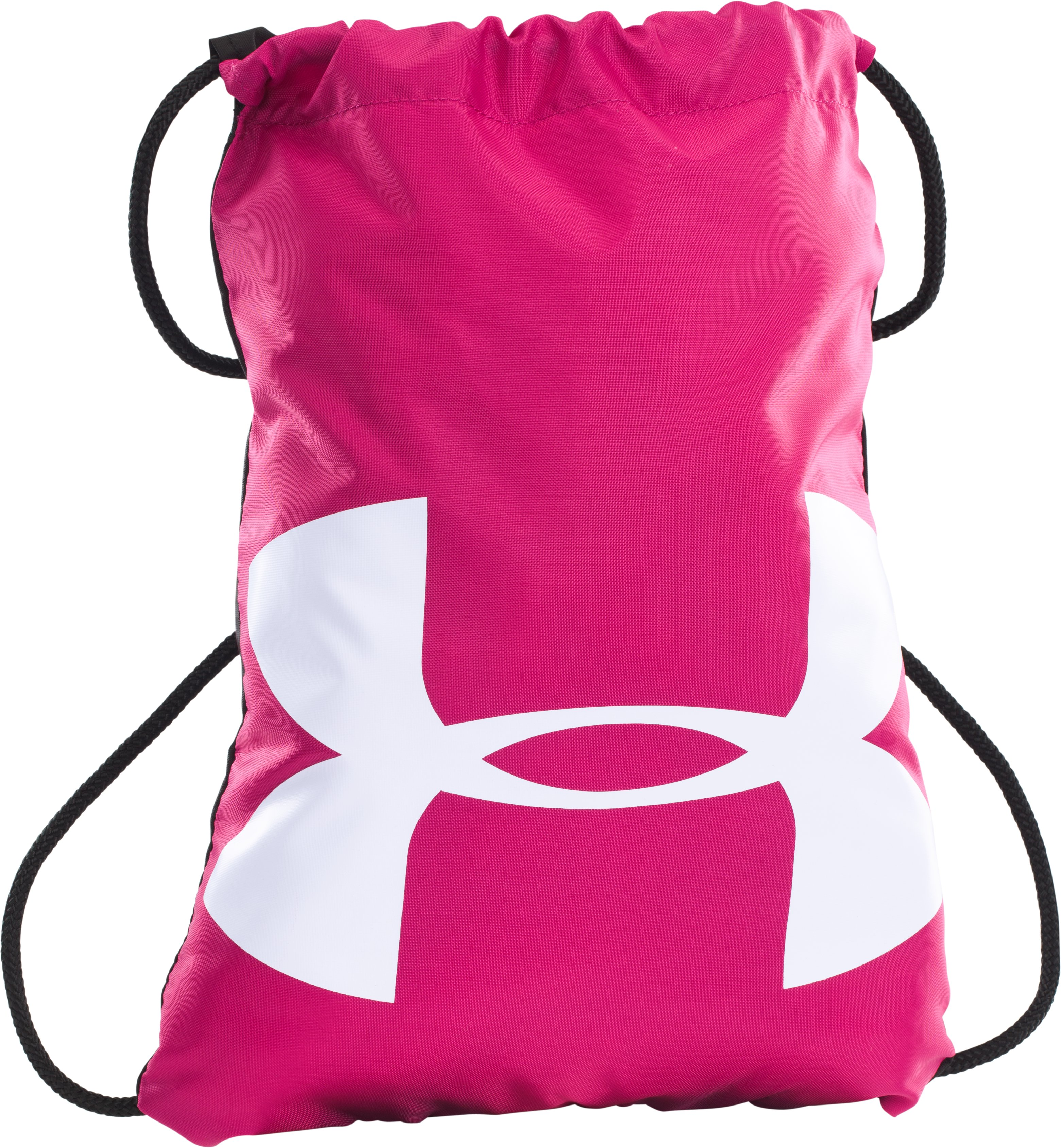 UA Ozsee Sackpack, Tropic Pink, zoomed image
