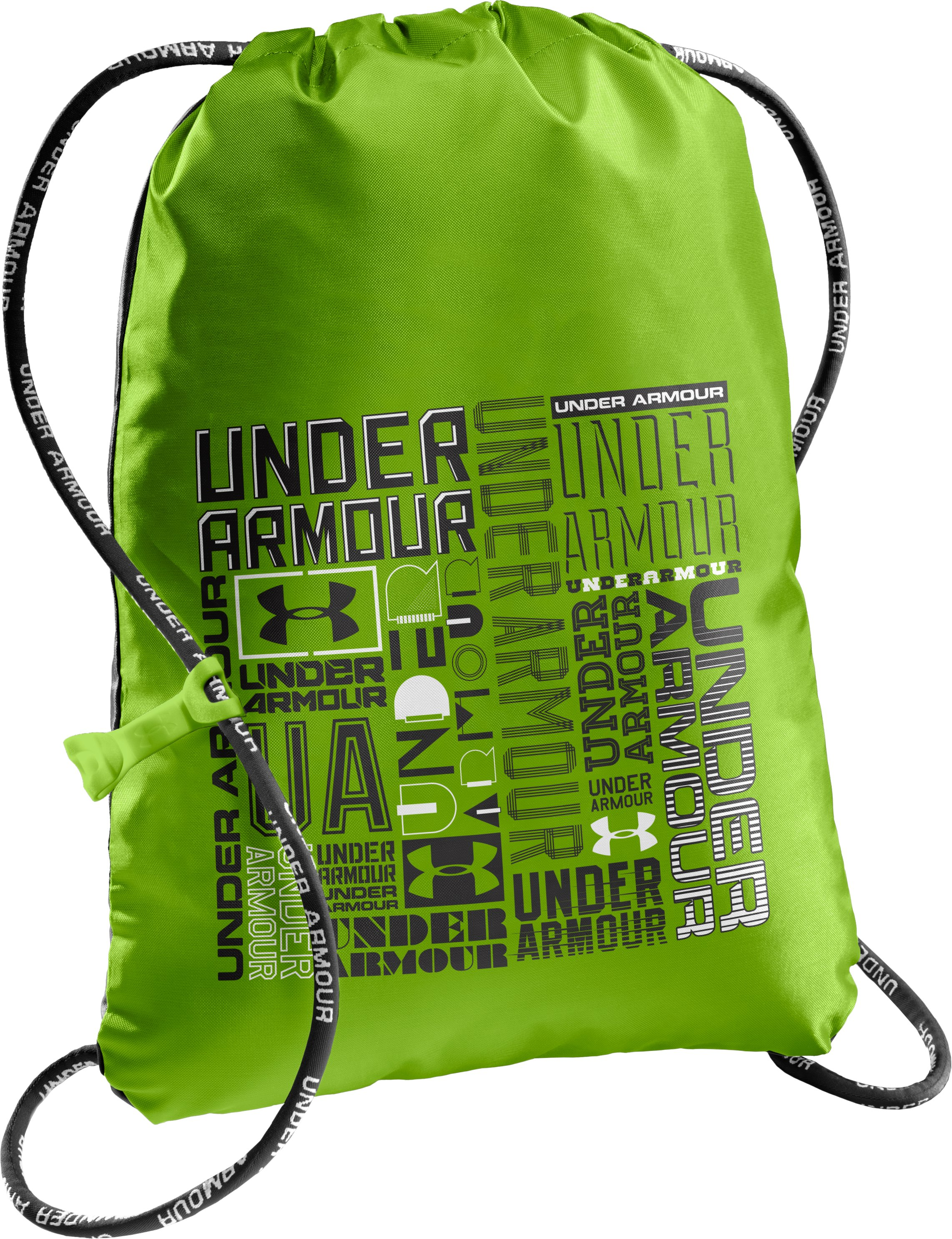 UA Ozsee G Sackpack, HYPER GREEN, zoomed image