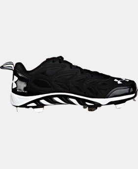 Men's UA Spine Metal Baseball Cleats LIMITED TIME: FREE U.S. SHIPPING 1 Color $74.99