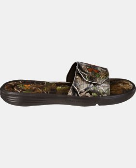 Men's UA Ignite Camo II Slides