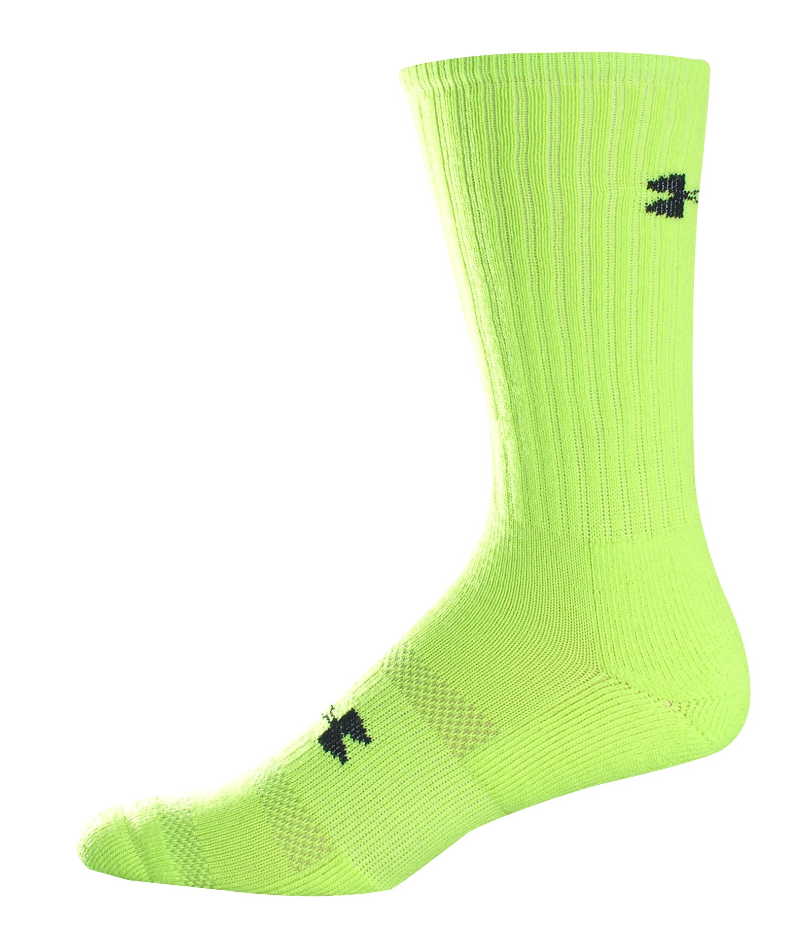 Hi Vis Crew Socks, High-Vis Yellow, zoomed image