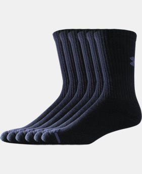 Best Seller Men's Charged Cotton® Crew Socks 6-Pack LIMITED TIME: FREE U.S. SHIPPING 1 Color $19.99