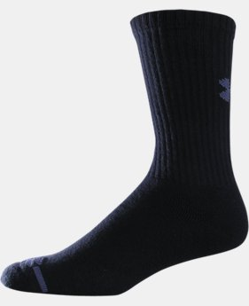 Kids' Charged Cotton® Crew Socks 6-Pack