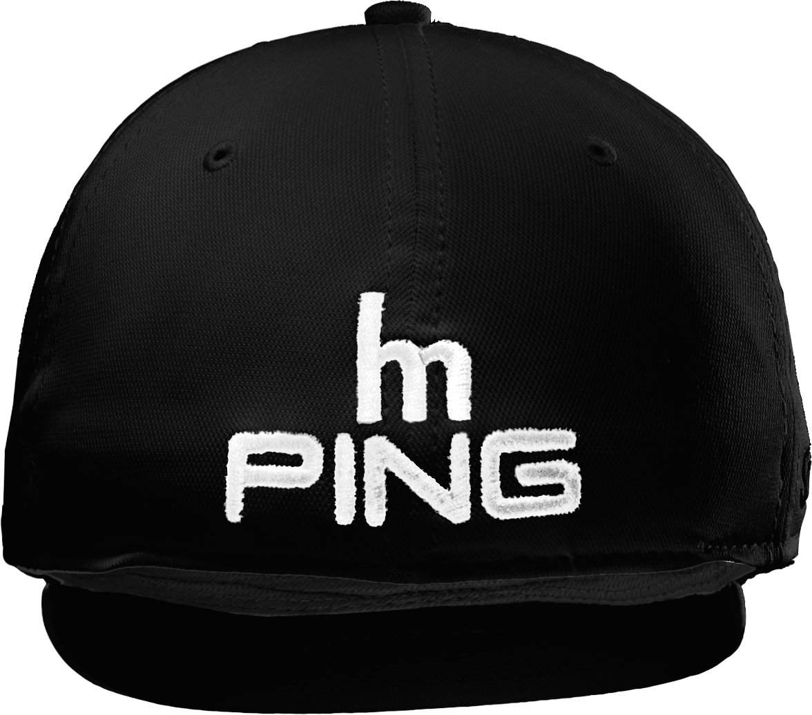Men's UA HM PING Golf Cap, Black ,