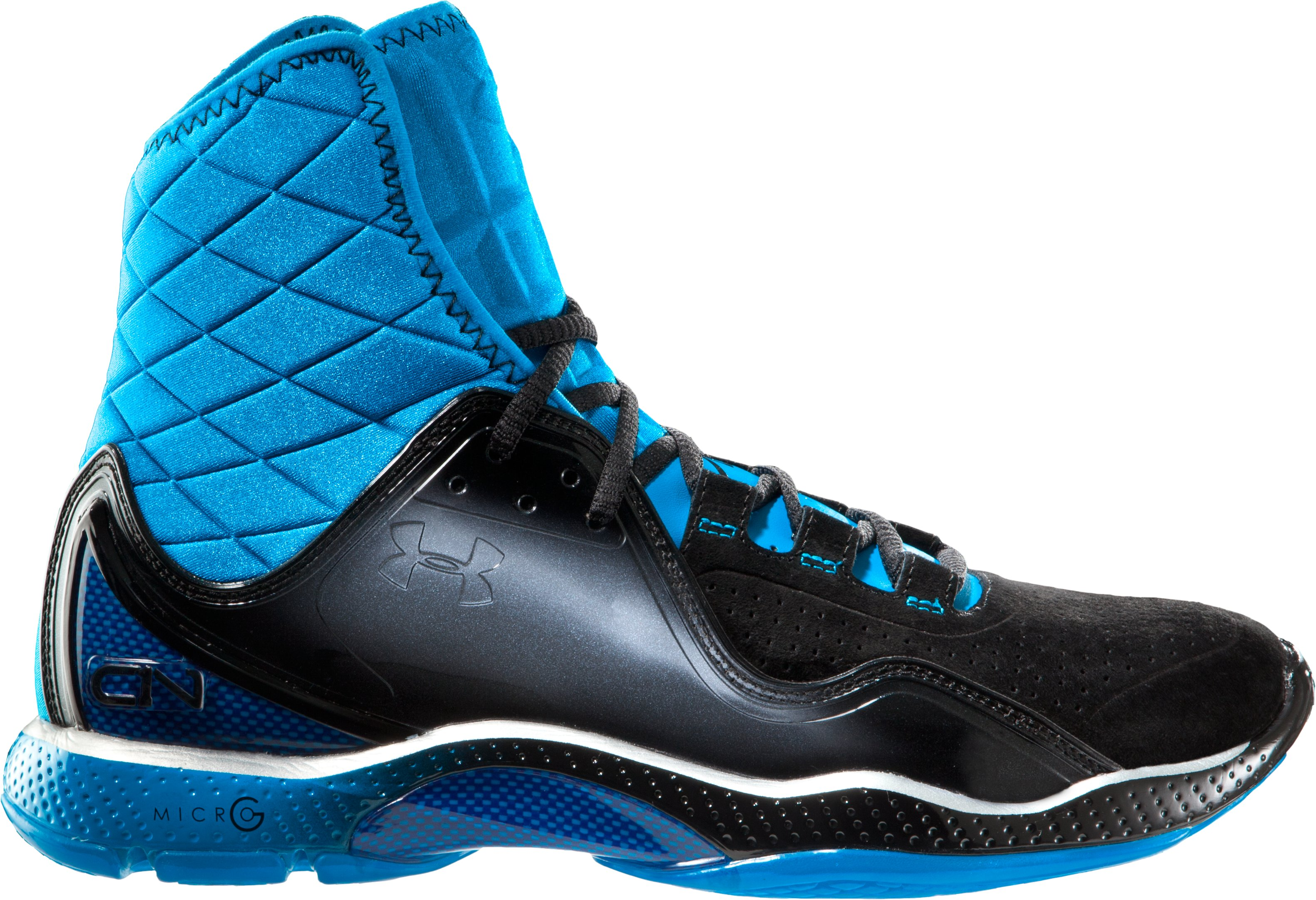 Boys' UA Cam Highlight Grade School Training Shoes, Blue Heat, undefined