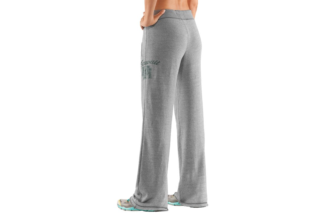 Women's University of Hawai'i Under Armour® Legacy Pants, True Gray Heather
