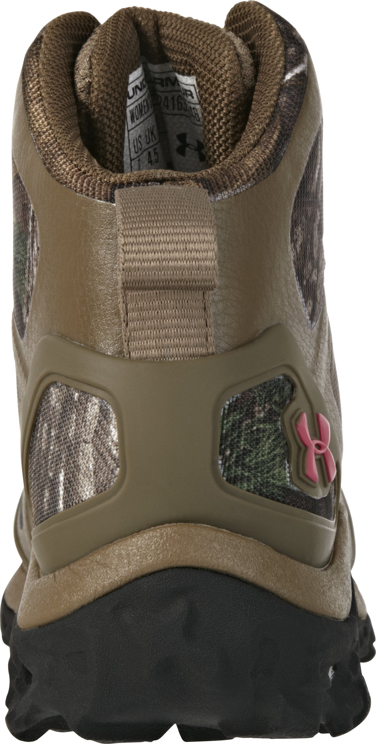 Women's UA Speed Freek Chaos Hunting Boot, REALTREE AP-XTRA