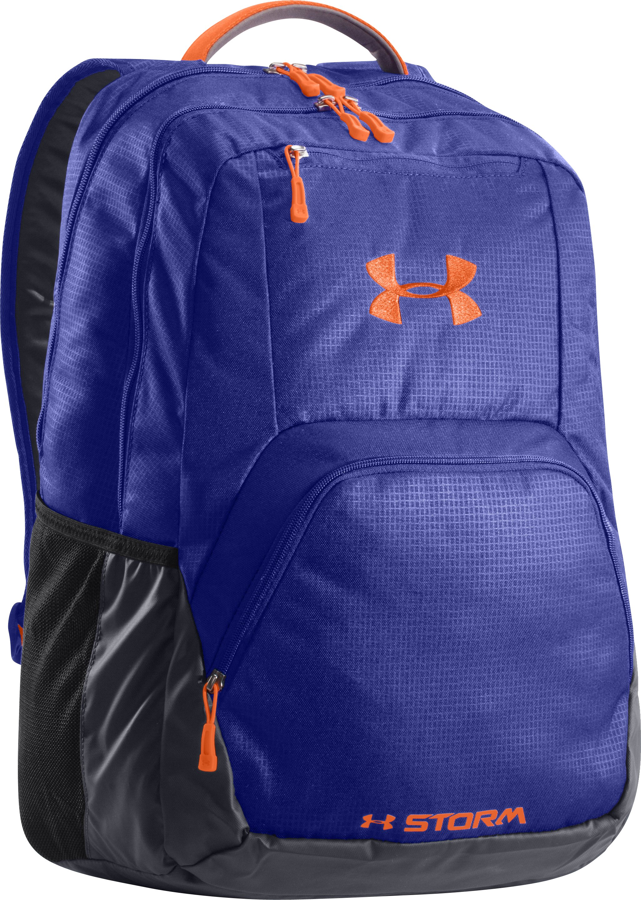 Women's UA Exeter Backpack, SIBERIAN IRIS, zoomed image