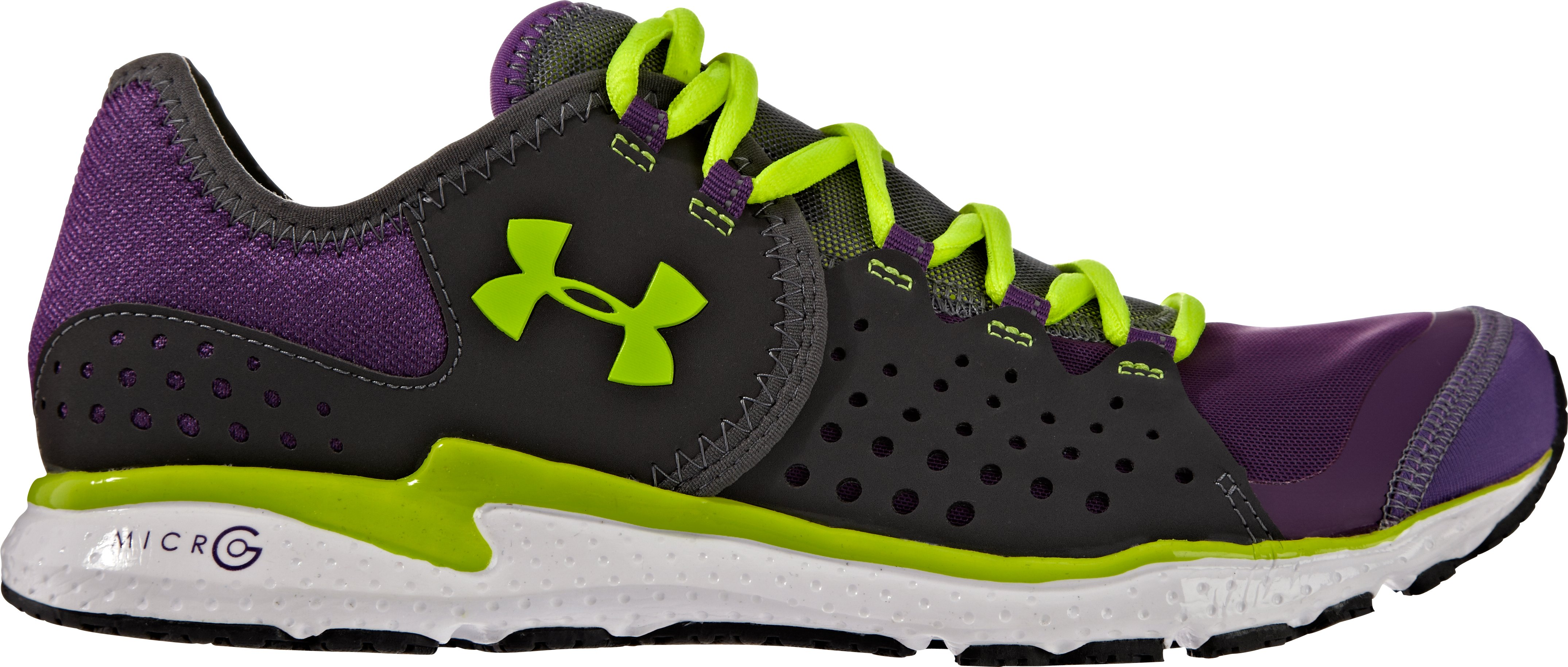 Women's UA Micro G® Mantis Running Shoes, Hendrix, zoomed image