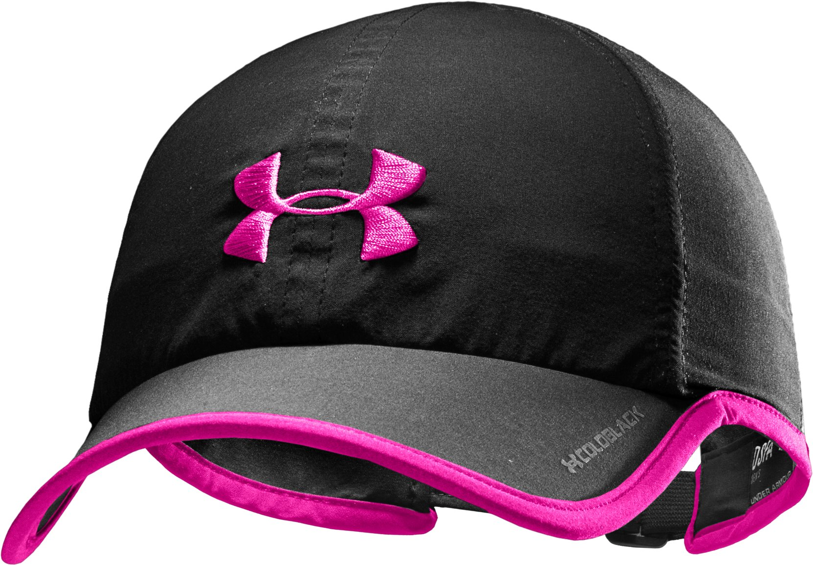 Men's PIP® UA Shadow Cap, Black , zoomed image