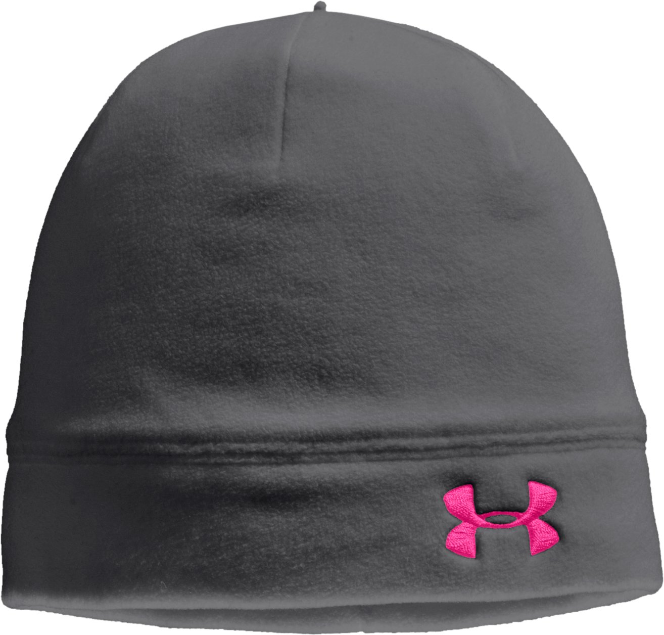 Women's ColdGear® Infrared UA Storm Beanie, Graphite, zoomed image