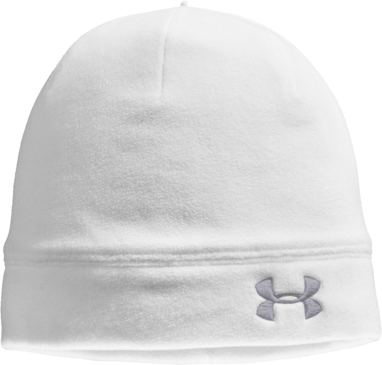 Women's ColdGear® Infrared UA Storm Beanie, White, zoomed image
