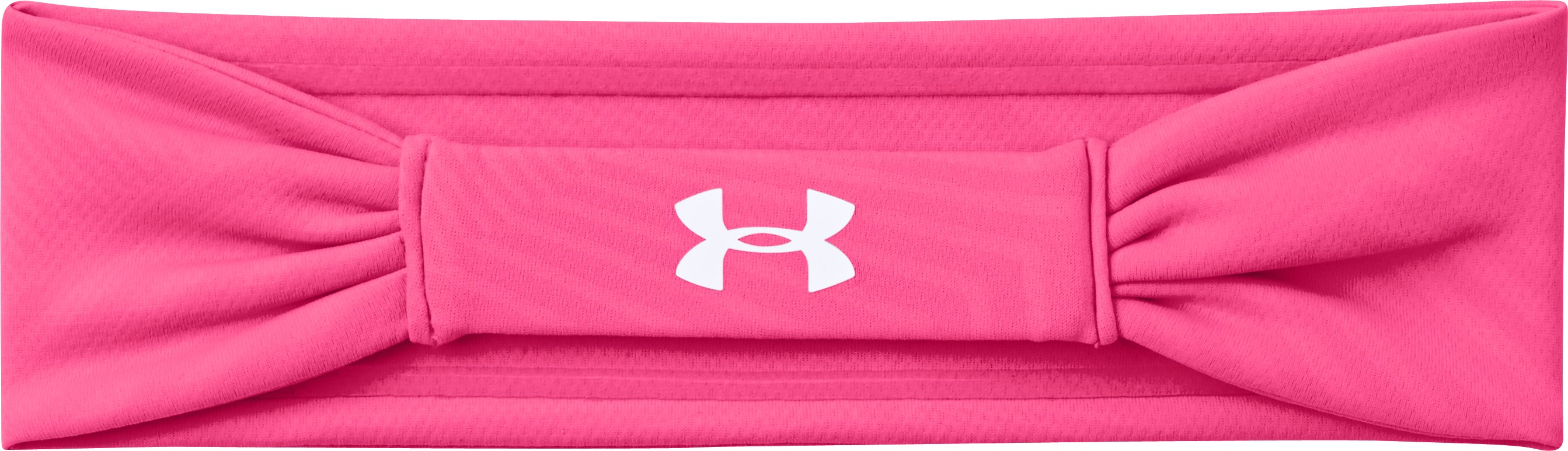 Women's UA PIP® She's A Fighter™ Headband, Cerise,