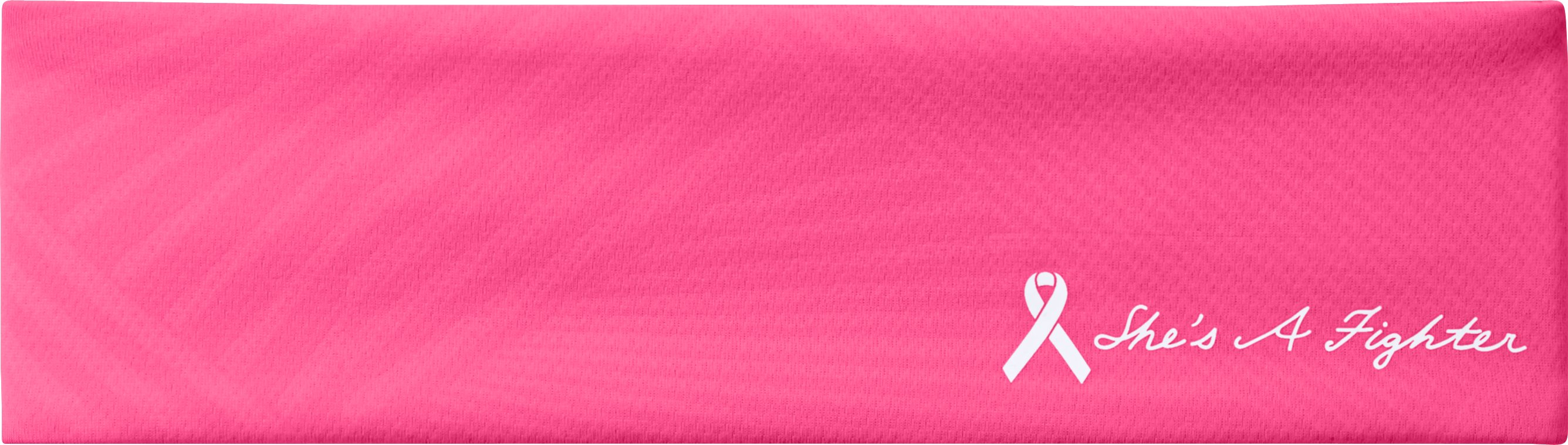 Women's UA PIP® She's A Fighter™ Headband, Cerise, zoomed image