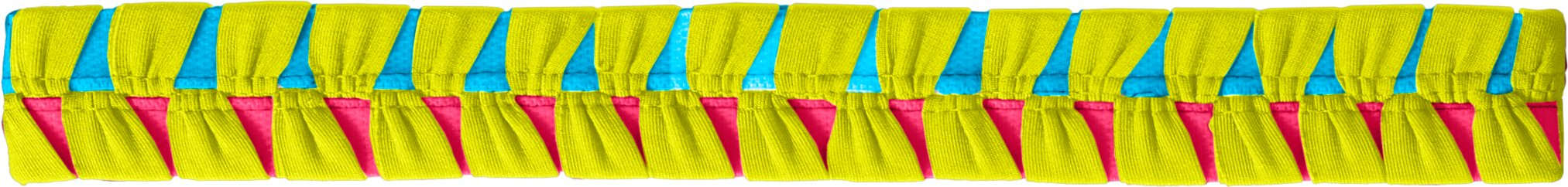 Women's UA Eliptic Headband, High-Vis Yellow, undefined