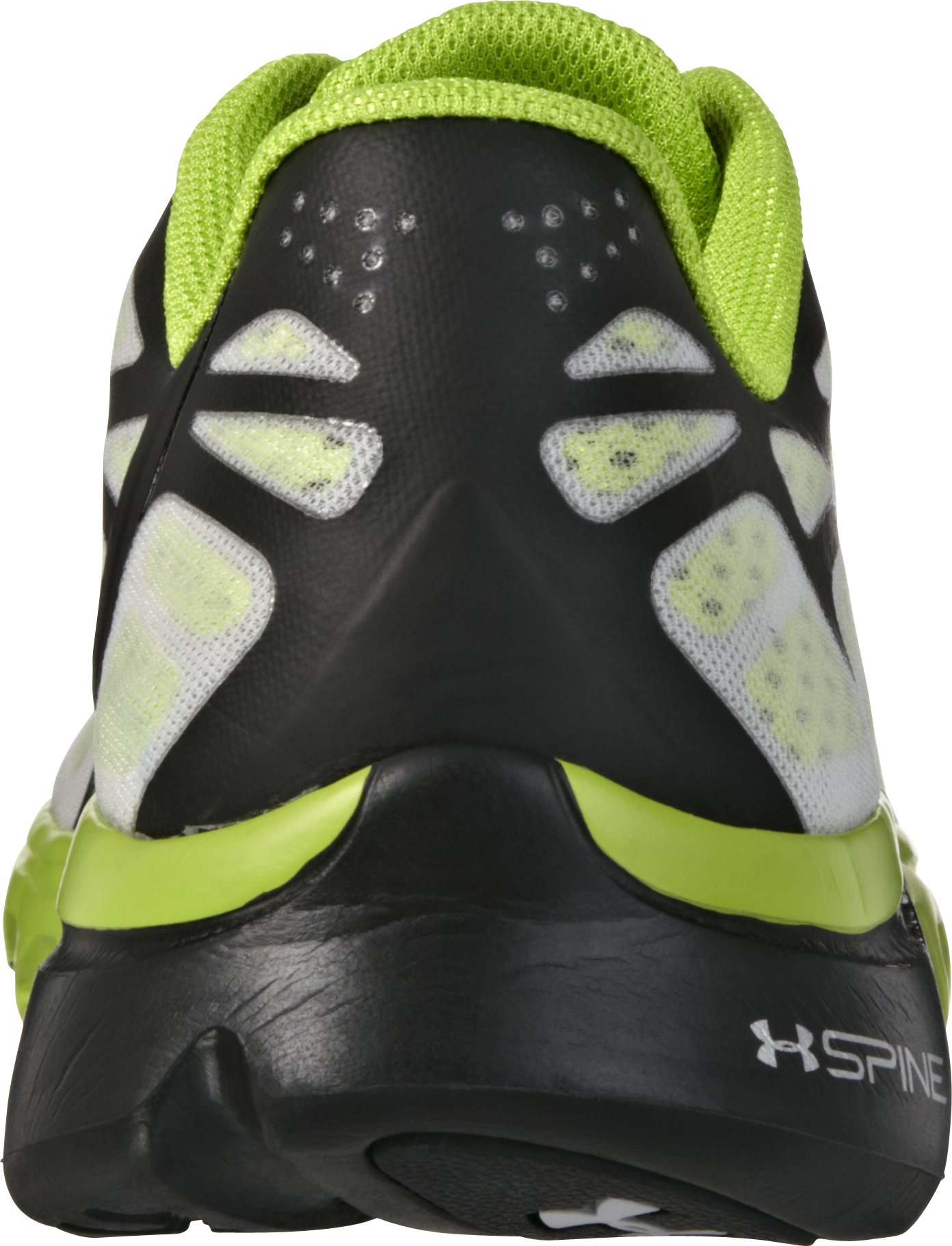 Boys' UA Spine™ Vice Fade Grade School Running Shoes, Black