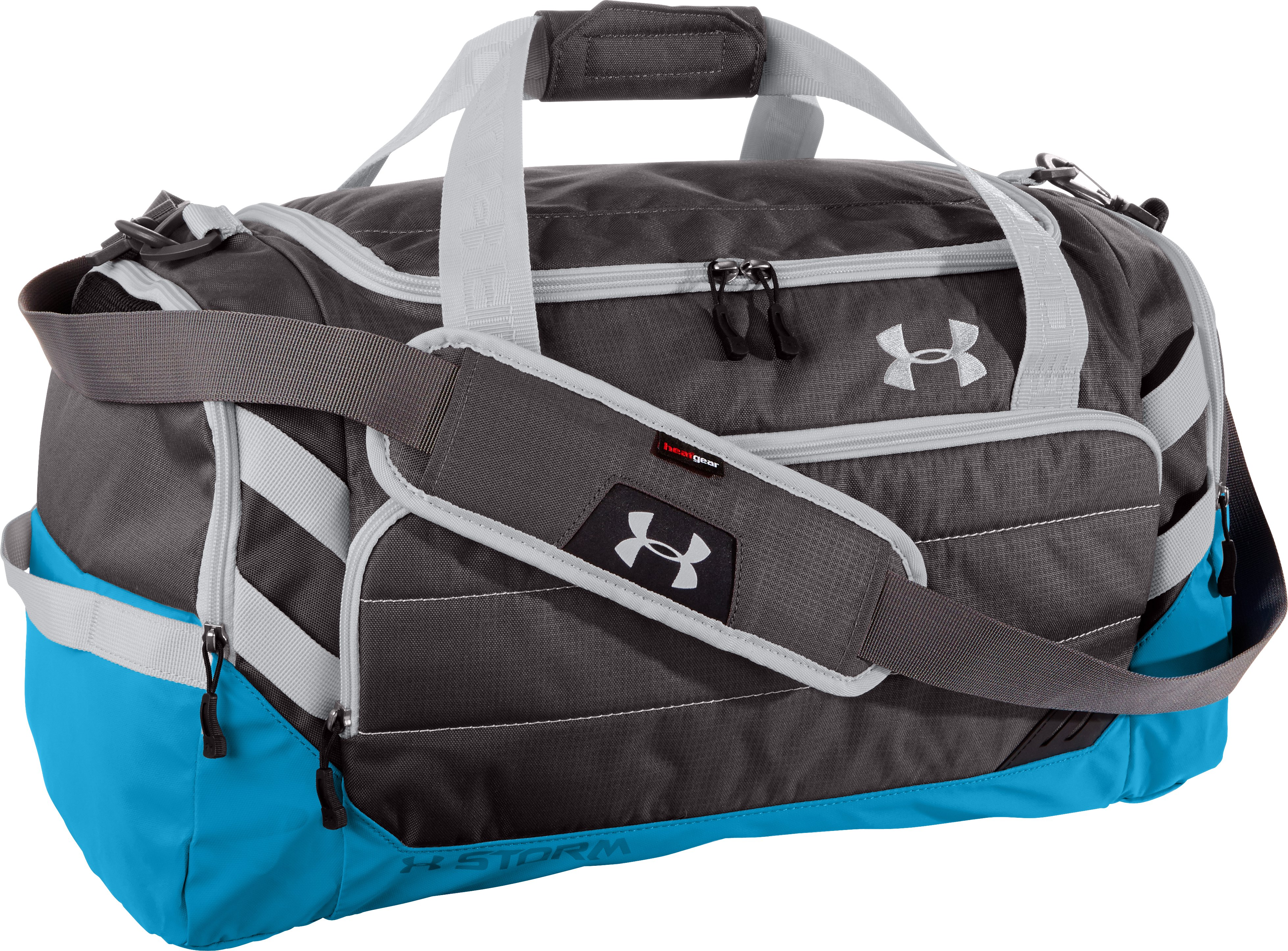 UA Camden Storm MD Duffle Bag, Charcoal