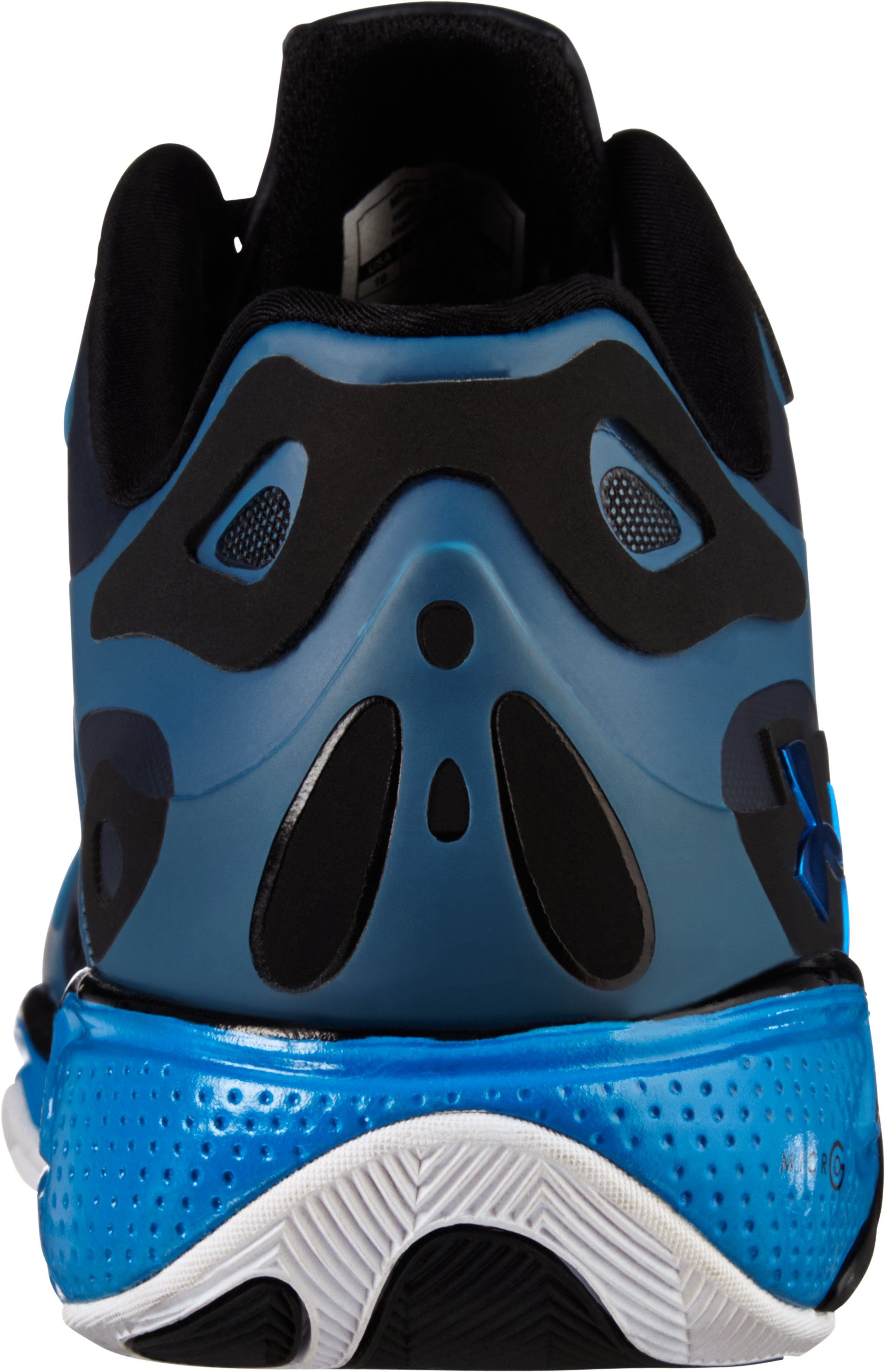 Men's UA Micro G® Anatomix Spawn Low Basketball Shoes, ELECTRIC BLUE