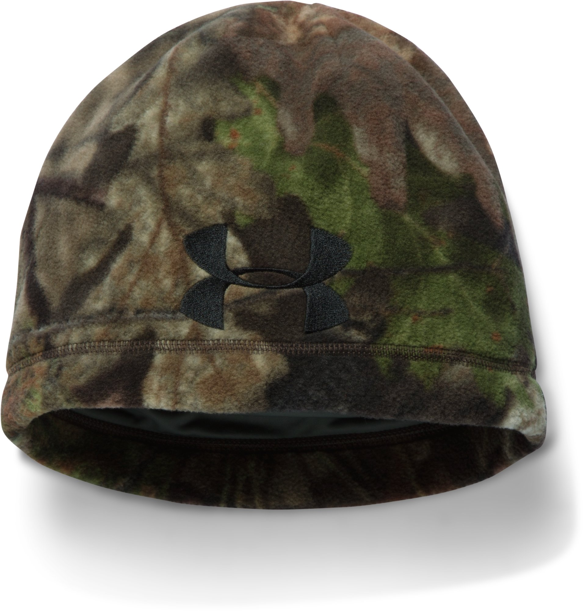 Men's UA Outdoor Camo Fleece Beanie, MOSSY OAK OPEN COUNTRY