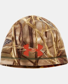 Men's UA Outdoor Camo Fleece Beanie  2 Colors $14.99