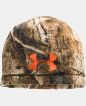 Men's UA Outdoor Camo Fleece Beanie   $14.99