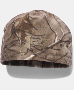 Men's UA Outdoor Camo Fleece Beanie  1 Color $29.99