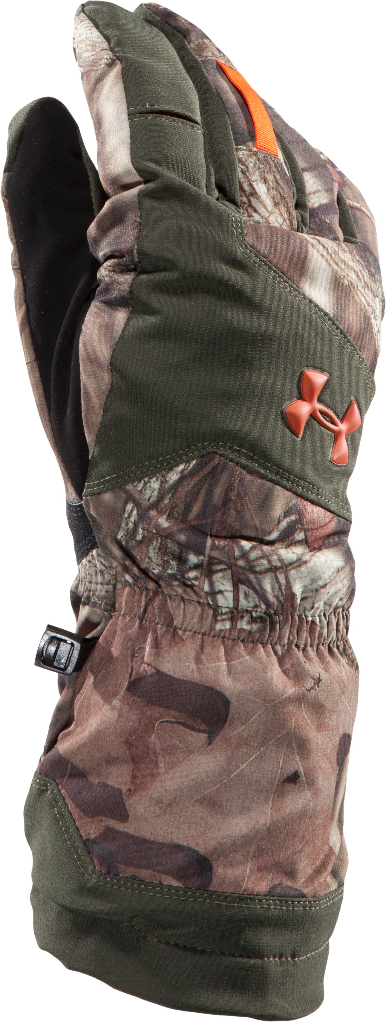 Men's ColdGear® Infrared Gunpowder Gloves, Mossy Oak Break-Up Infinity