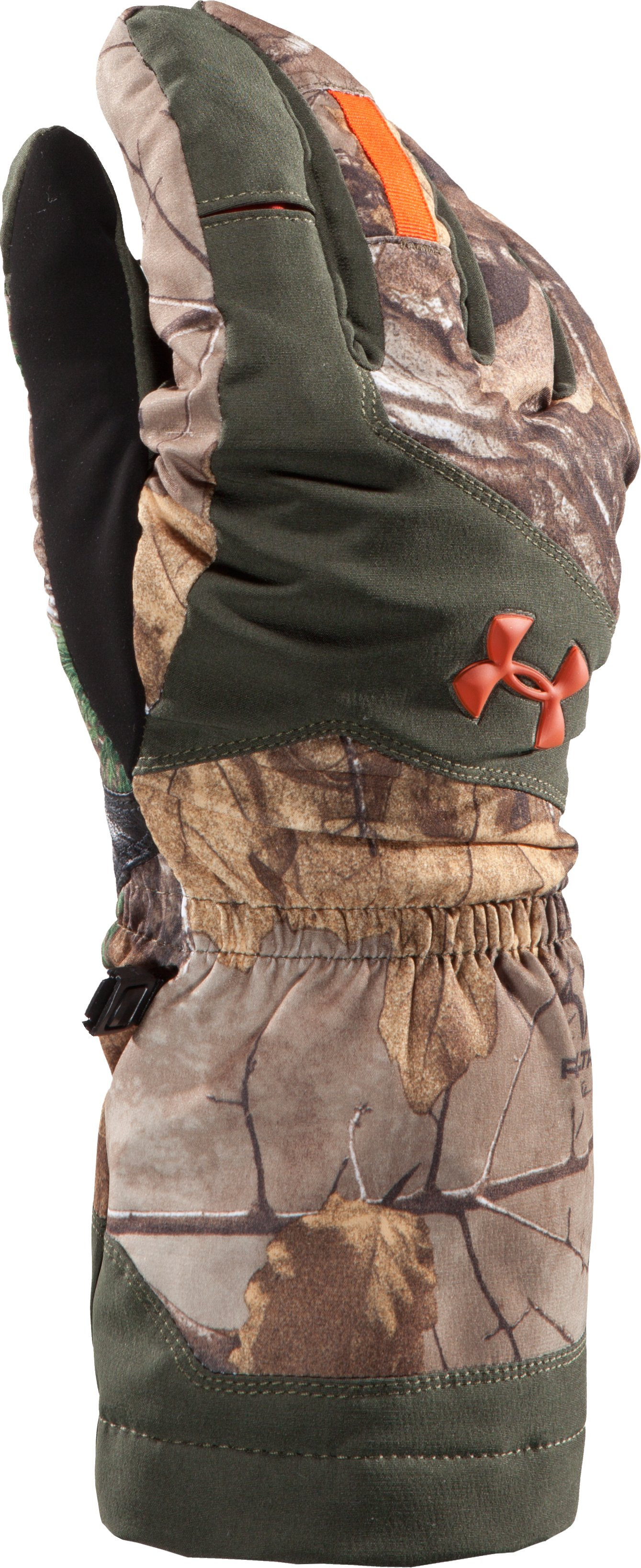 Men's ColdGear® Infrared Gunpowder Gloves, REALTREE AP-XTRA, undefined