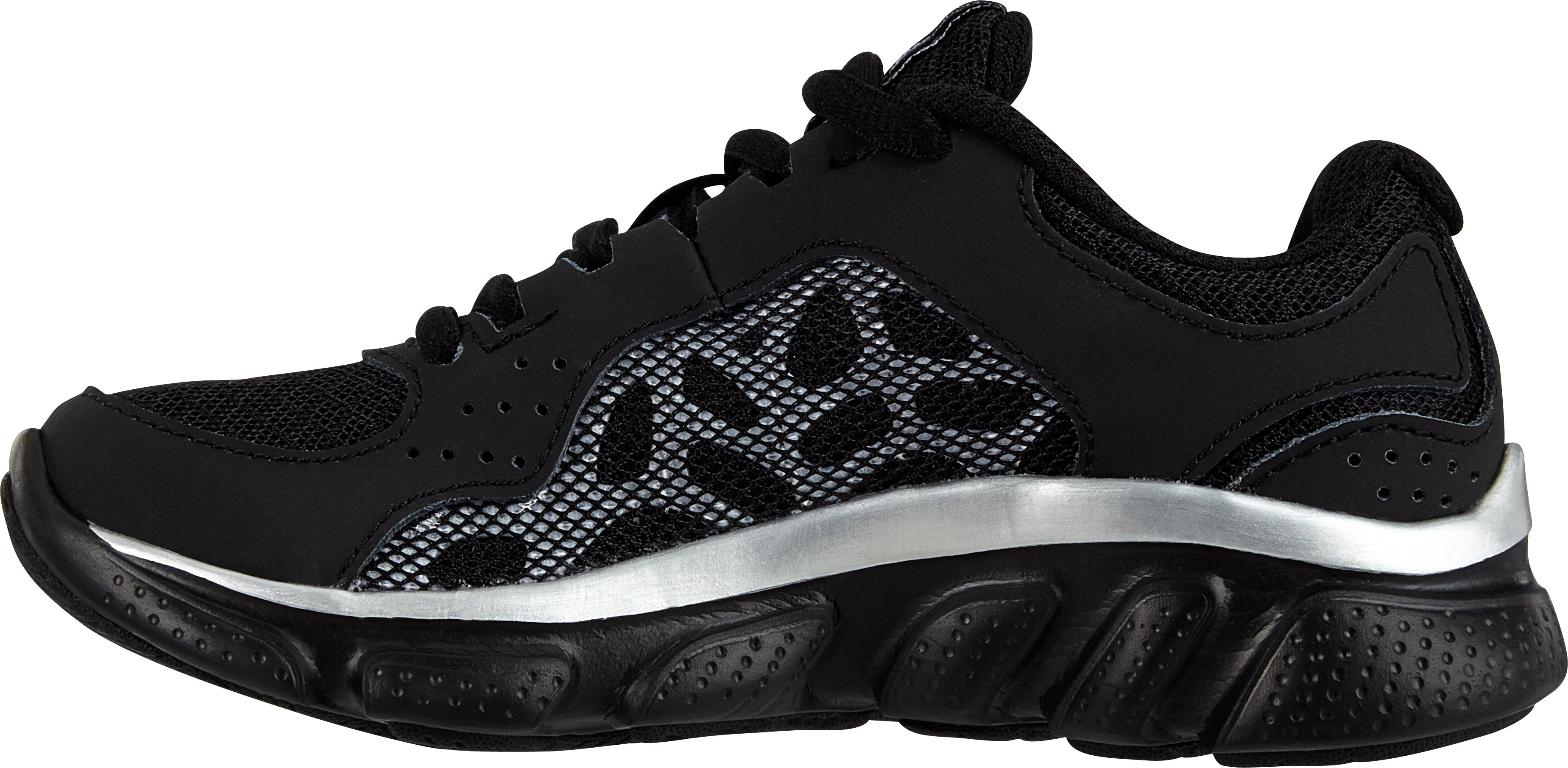 Boys' Pre-School UA Assert IV Shoes, Black