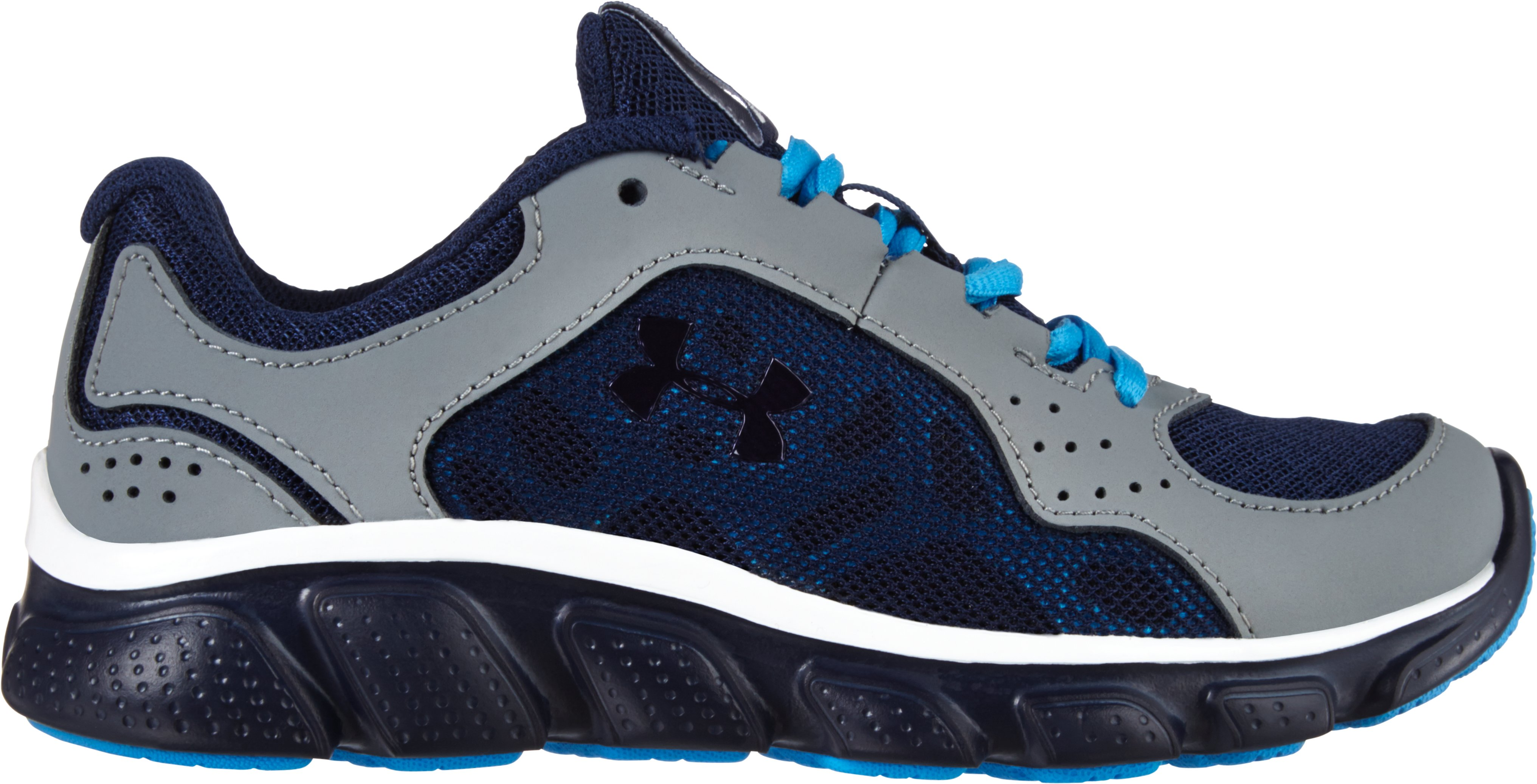 Boys' Pre-School UA Assert IV Shoes, GRAVEL, undefined