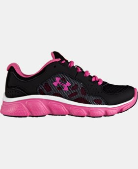 Girls' Pre-School UA Assert IV Running Shoes