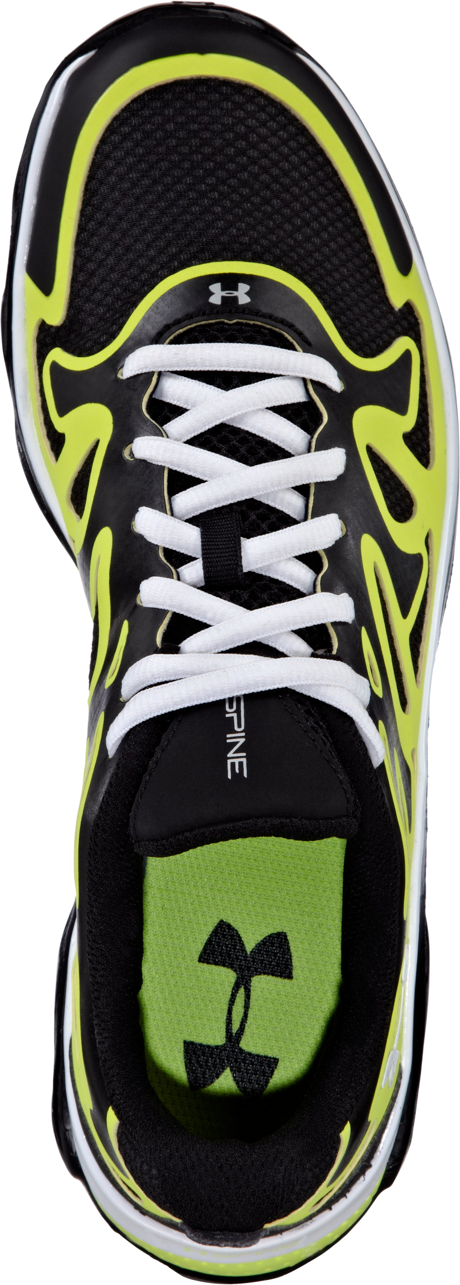 Boys' UA Spine™ Evo Grade School Running Shoes, Black