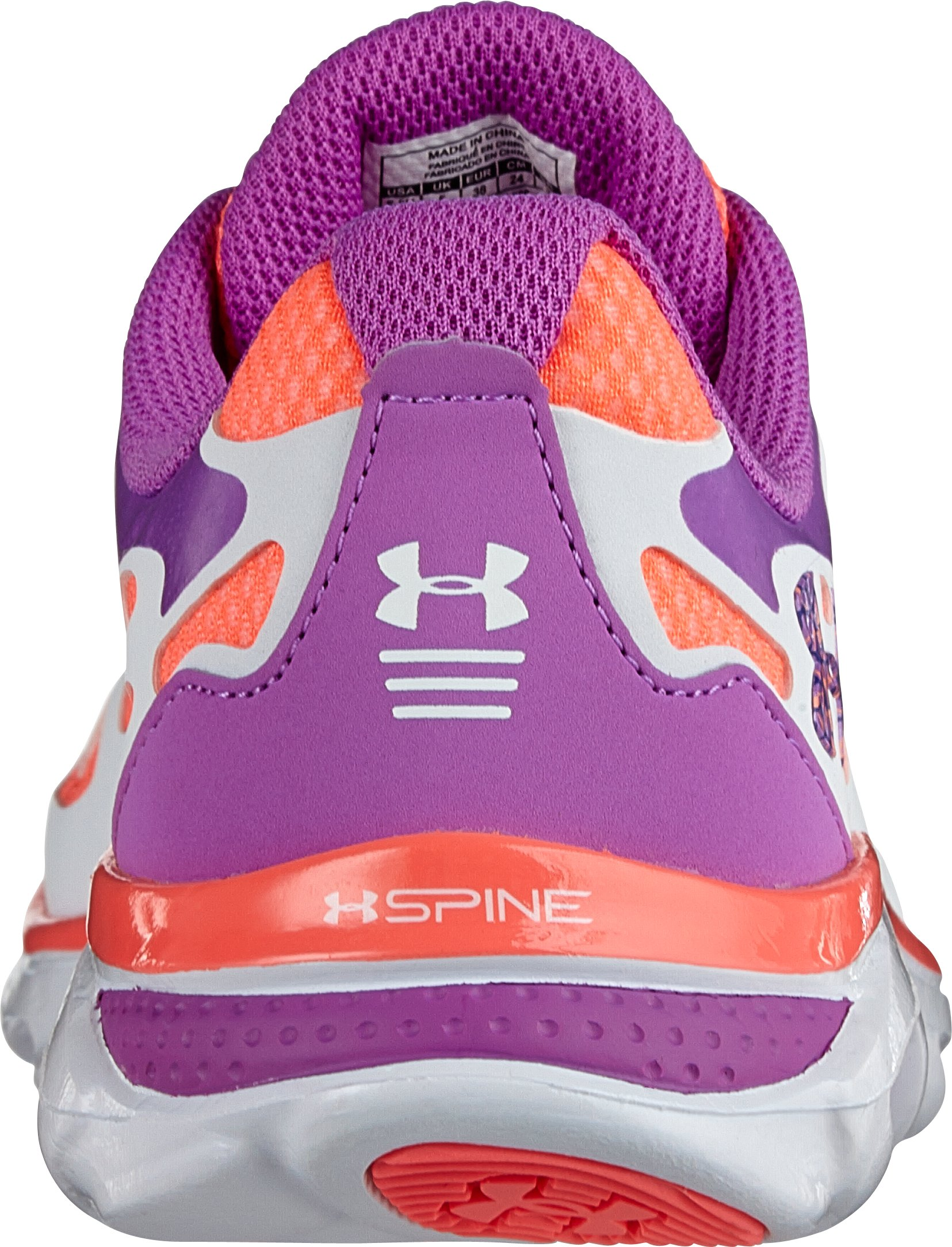Girls' Grade School Micro G® Spine Evo Running Shoes, EXOTIC BLOOM
