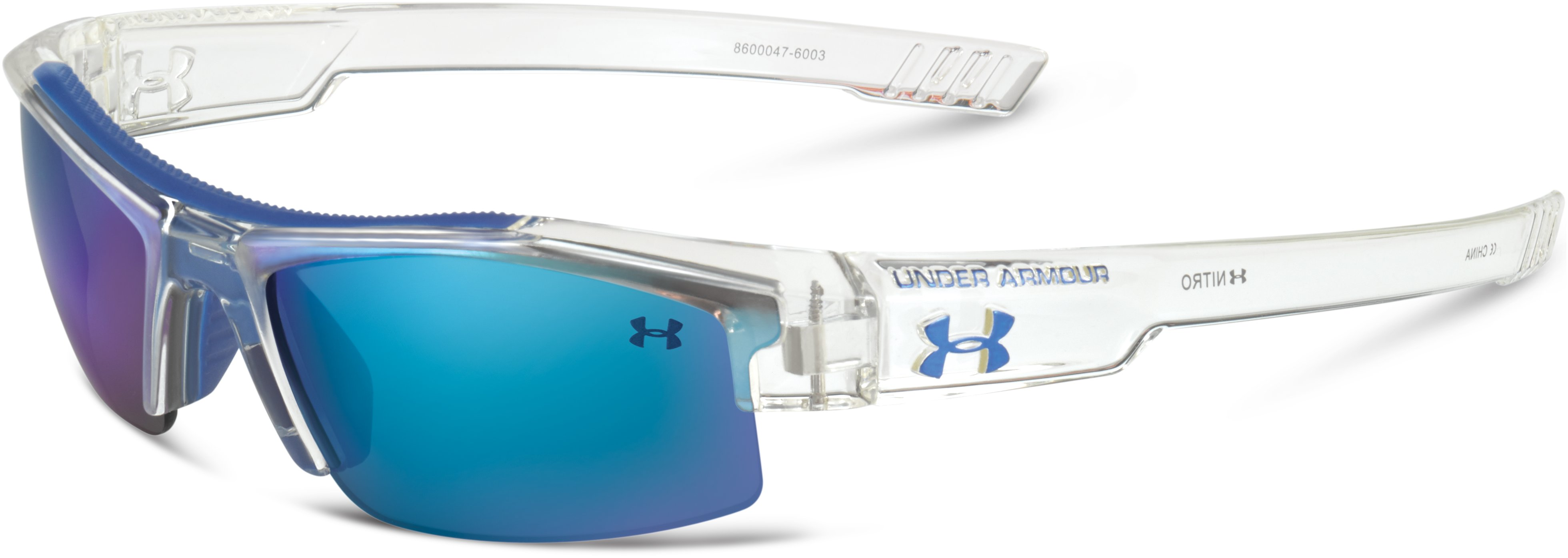 Kids' UA Nitro Sunglasses, Clear,