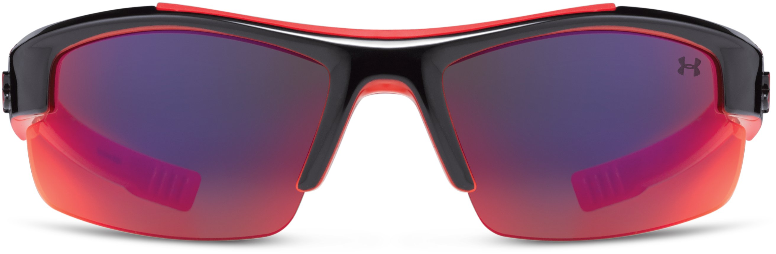Kids' UA Nitro L Sunglasses, Shiny Black