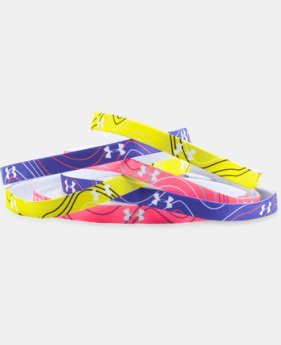 Girls' UA Graphic Mini Headbands  3 Colors $11.99