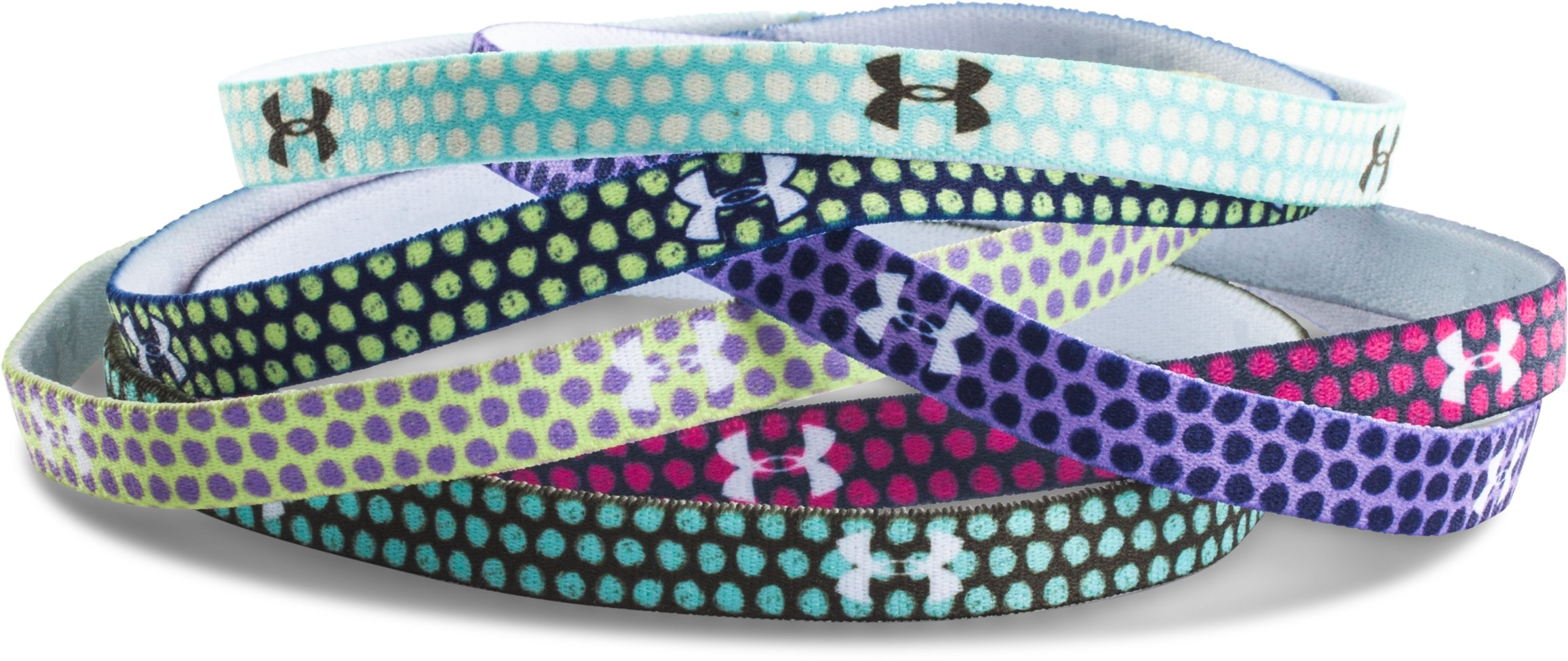 Girls' UA Graphic Mini Headbands, REBEL PINK, zoomed image